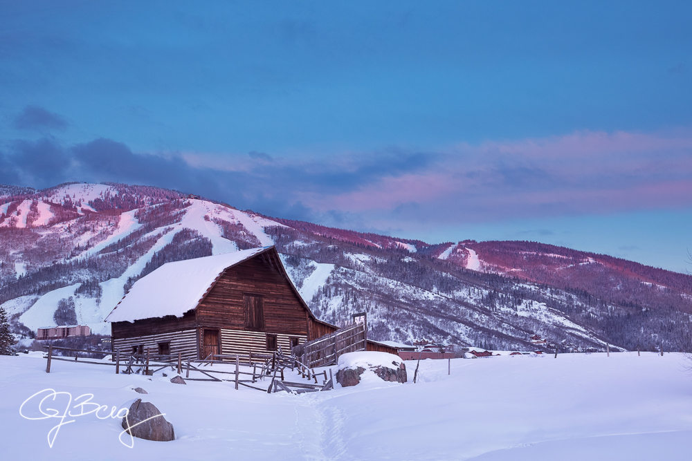 Steamboat Barn Winter Sunset Web.jpg