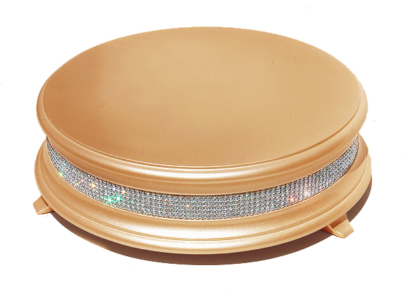 Gold Wedding Cake Stand with Crystals Wedding cake stands