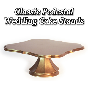Pedestal Wedding Cake Stands