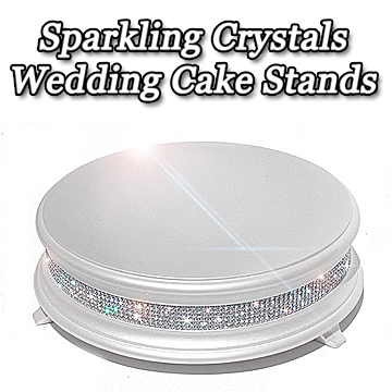 Diamond Wedding Cake Stands