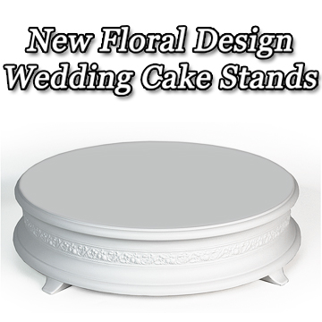 New Floral Design Cake Stand