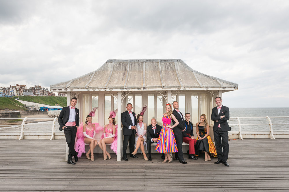 The cast of the the Cromer Pier Summer Show