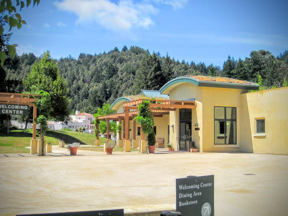 Welcoming Center with Pueblo Bldg.JPG