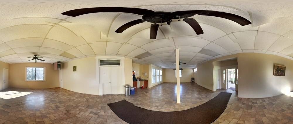Guadalupe Hall 360° panorama
