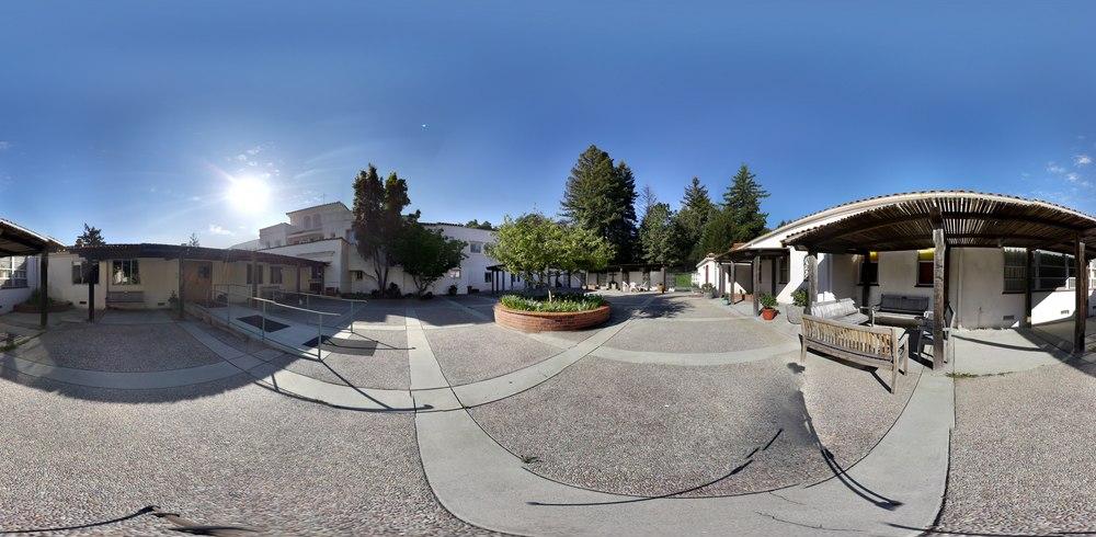 Pueblo Courtyard