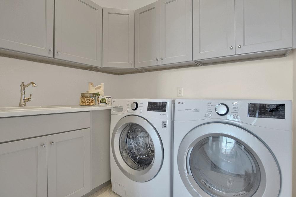 Keller Homes Mackintosh Model Laundry in Cordera