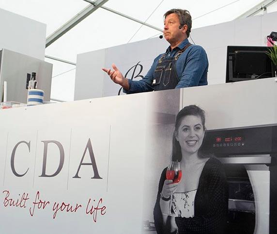 John Torode using a CDA appliance