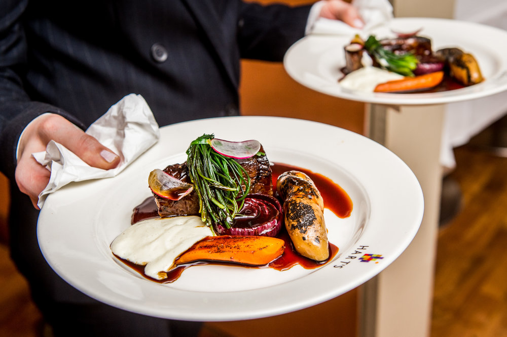 Braised Jacobs Ladder of beef, braised onion, smoked potato, confit carrots, horseradish.jpg