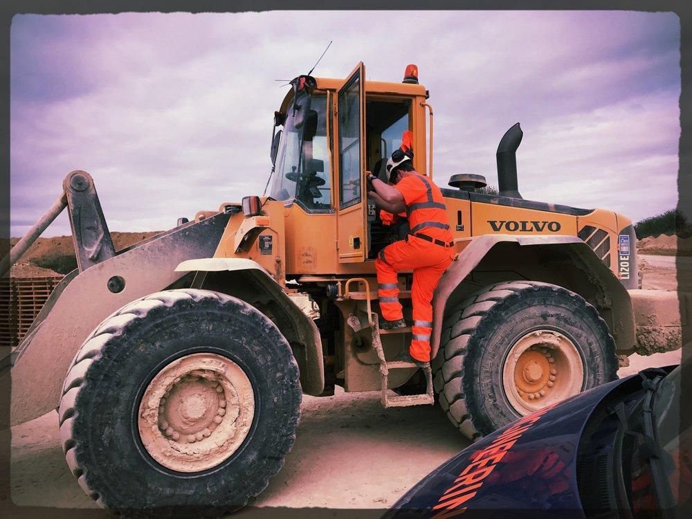 Loading shovel operators