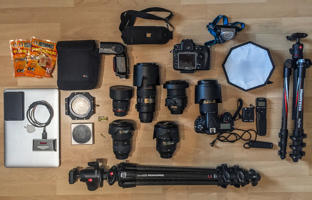 Can I really fit all of this in my camera bag?