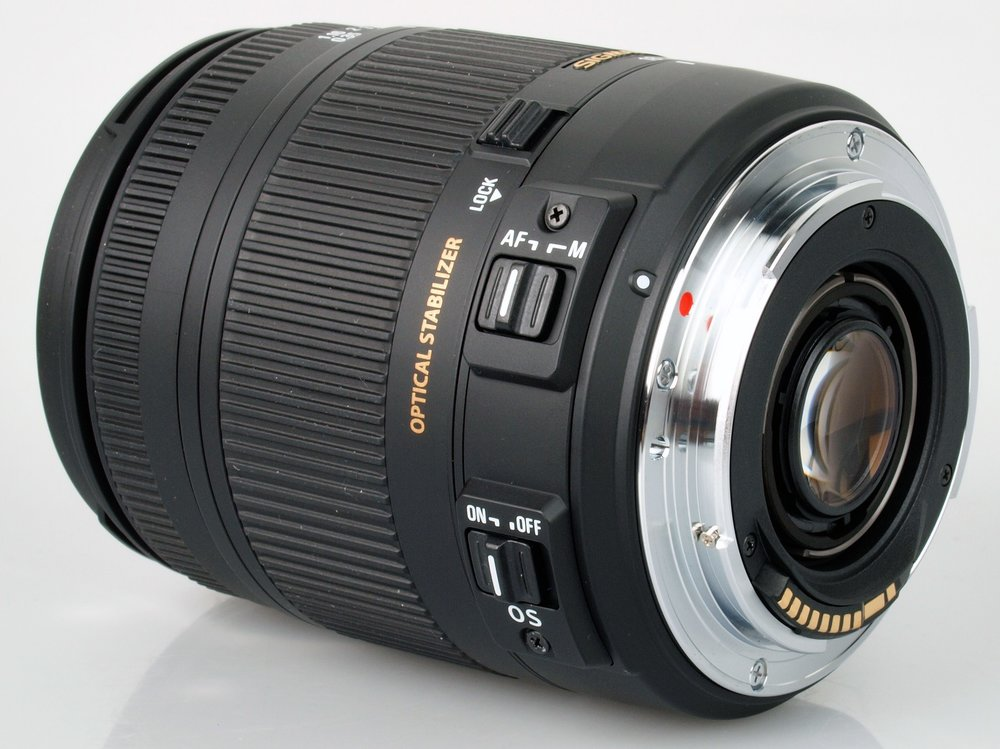Sigma 18-250mm f/3.5 – 6.3 all rounder lens