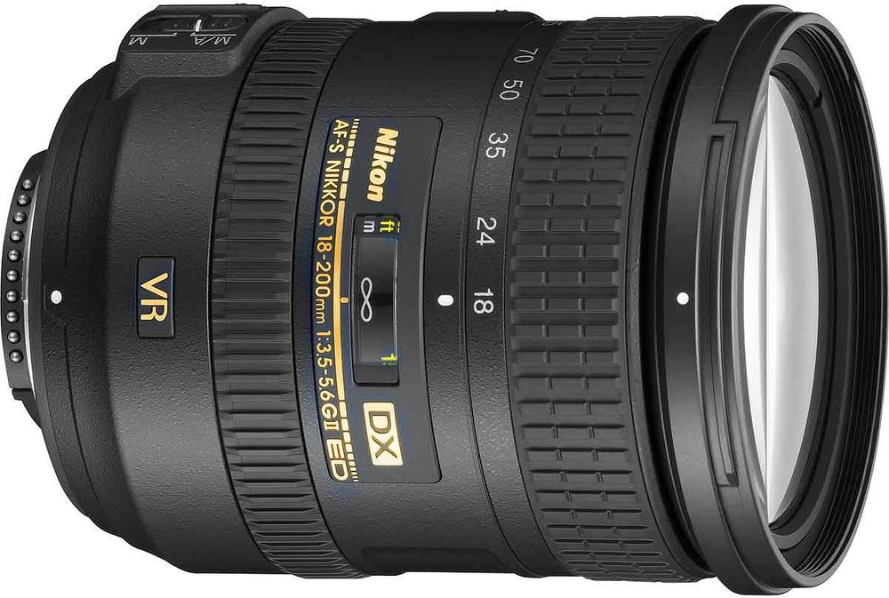 Nikon 18-200mm f/3.5 – 5.6 all rounder lens