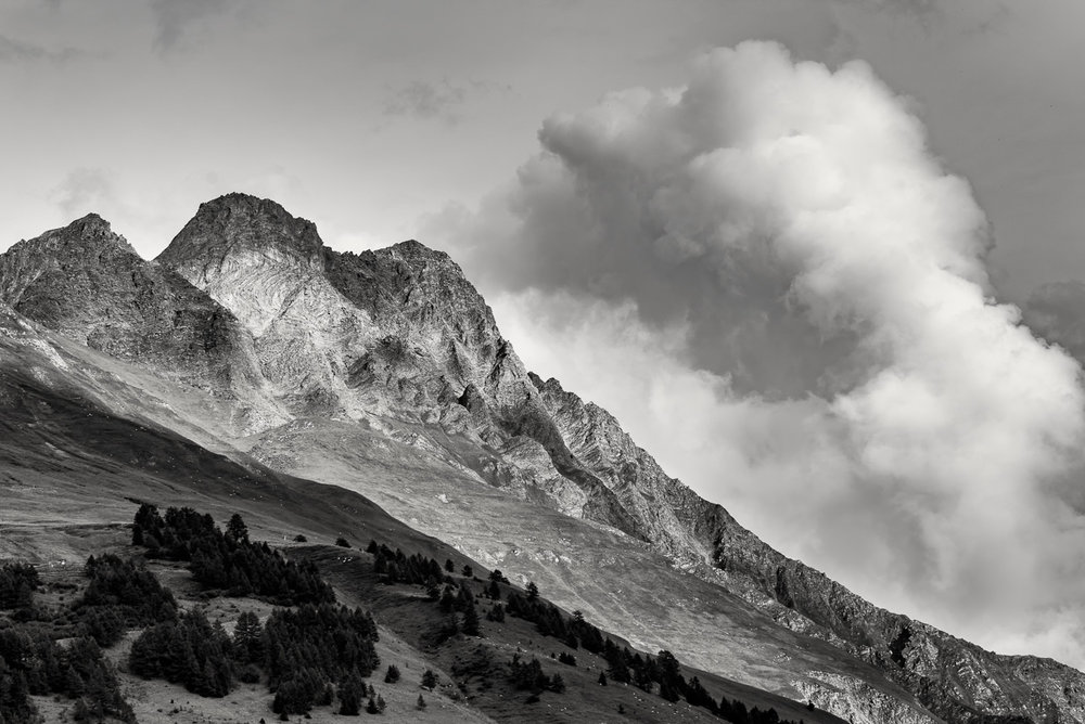 Mountainside, Switzerland -  Nikon D810, Nikon 70-200 f/2.8 @ f/8 1/250sec ISO 64 95mm. Manfrotto carbon fibre tripod, and ball head.