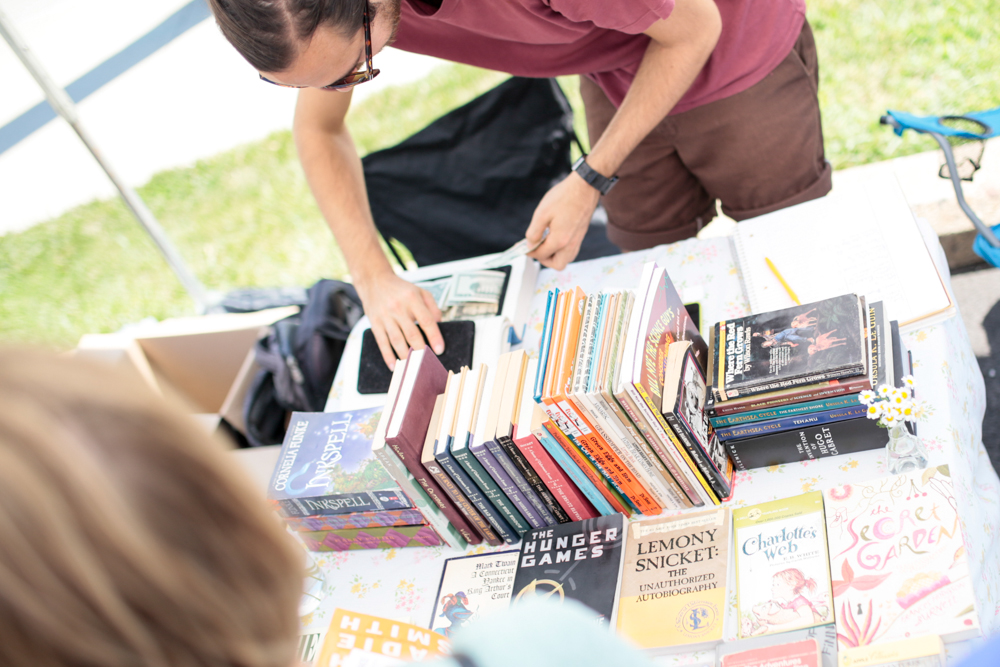 Summer Flea, August 2, 2015. Photo by Nathan Ward.