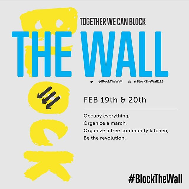 Some great folks including @crimethincdotcom and @blackqueercollective are banning together to create a National Emergency Trump can't ignore. See the link in profile.  #blockthewall #nowall