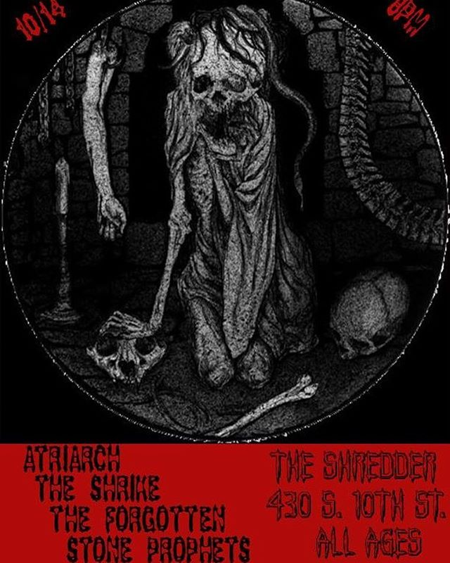 We are finishing up our Northwest Tour tomorrow night at The Shredder in Boise, Idaho. Very excited to return to this great rock venue. #theshrike #tour #northwesttour #boise #idaho #theshrikemusic #hyperion #bluenailsarmy #theshredder #alternative #rock #hardrock #femalefronted #roadlife #portland