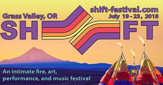 We are so excited to return to the main stage at Shift Festival for our second year. Join us in Central Oregon for this fun music and art festival in July. Tickets on sale now. #theshrike #theshrikemusic #rock #alternative #shift #shiftfestival #grassvalley #bluenailsarmy #hyperion #femalefronted #tectonic #festival