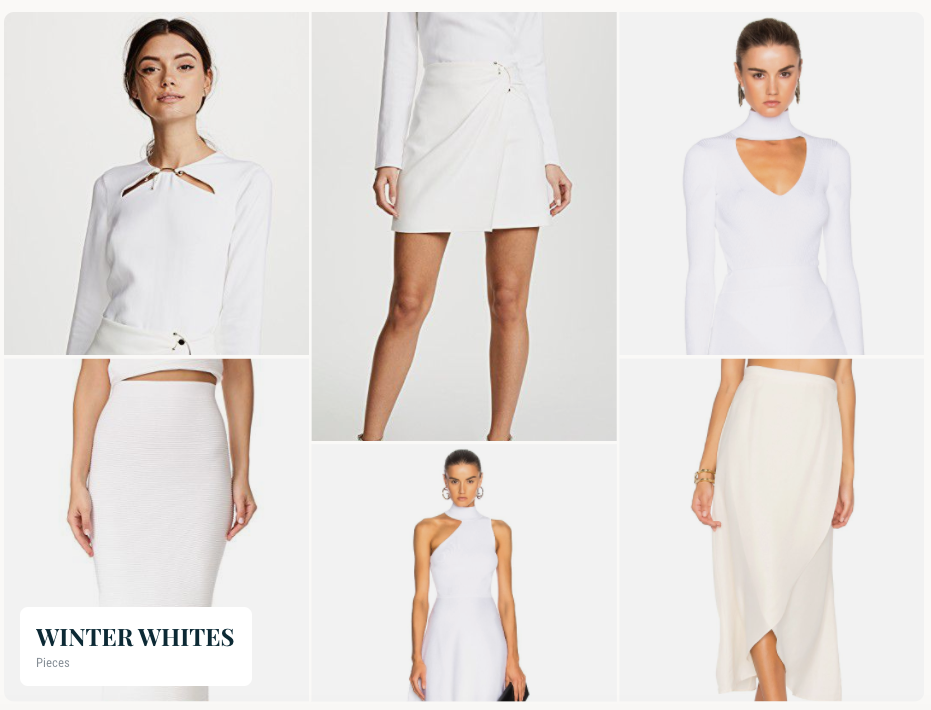 Winter White - Skirt Look