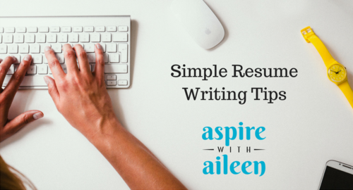 has it been a while since you last updated your resume or perhaps you want a quick how to on approaching this thing that has potentially been on your - Writing A Simple Resume