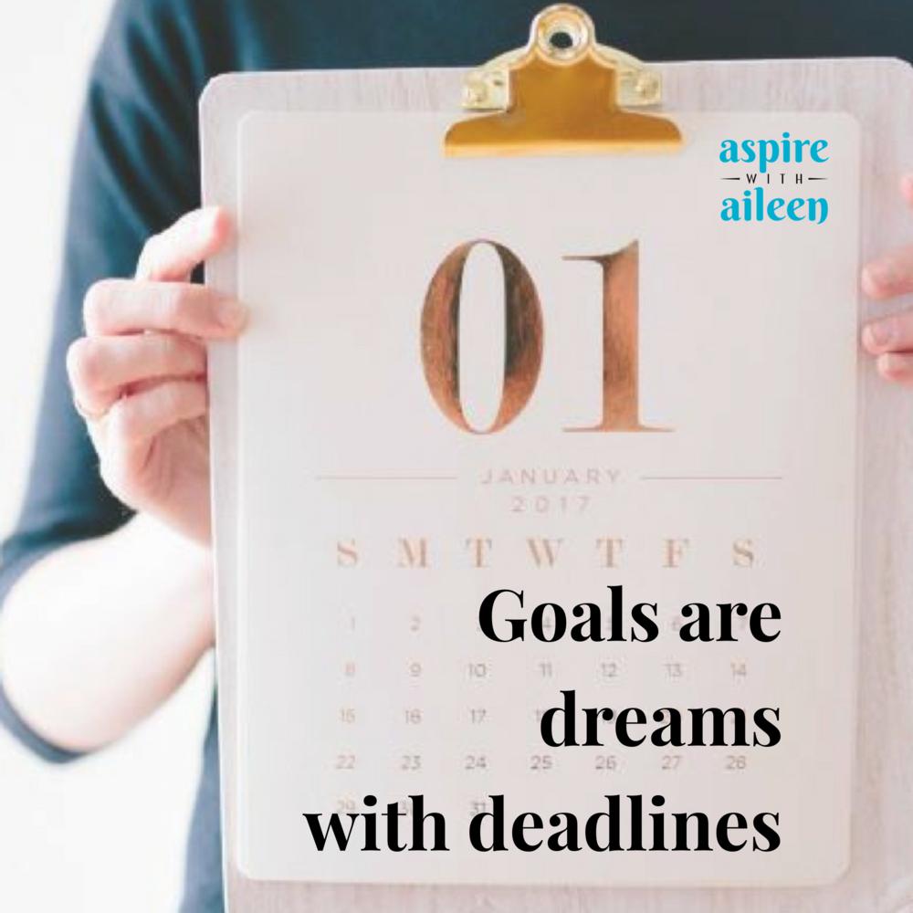 goal setting career change