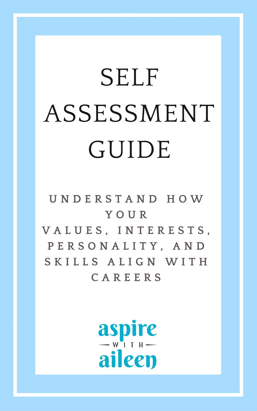 Use self-understanding to find a job that's the right fit. Get your guide  here .