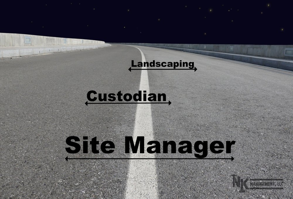 stay in your lane, management, site management, custodian, landscaping, hawaii