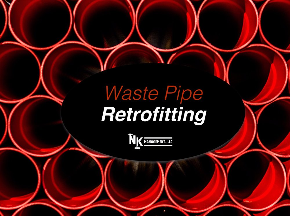Waste Pipe Retrofitting NK Management Site Management Honolulu Hawaii