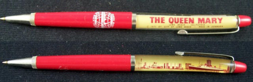 A vintage Queen Mary pen like Terry mentioned, remember these pens?