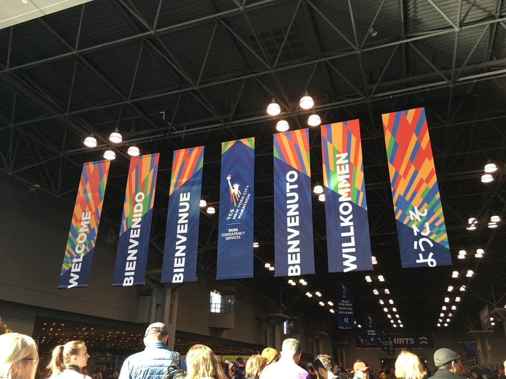 At the 2015 NYC Marathon pre-race convention