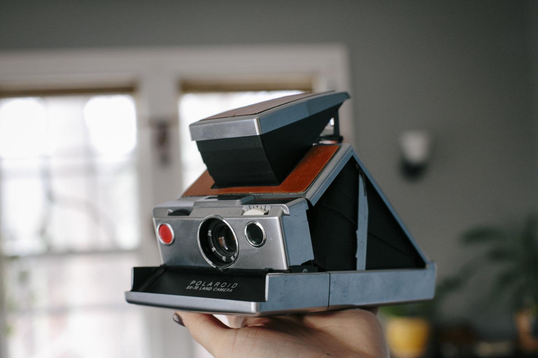 Sarah Clapp Polaroid Portrait Project THE BLOG