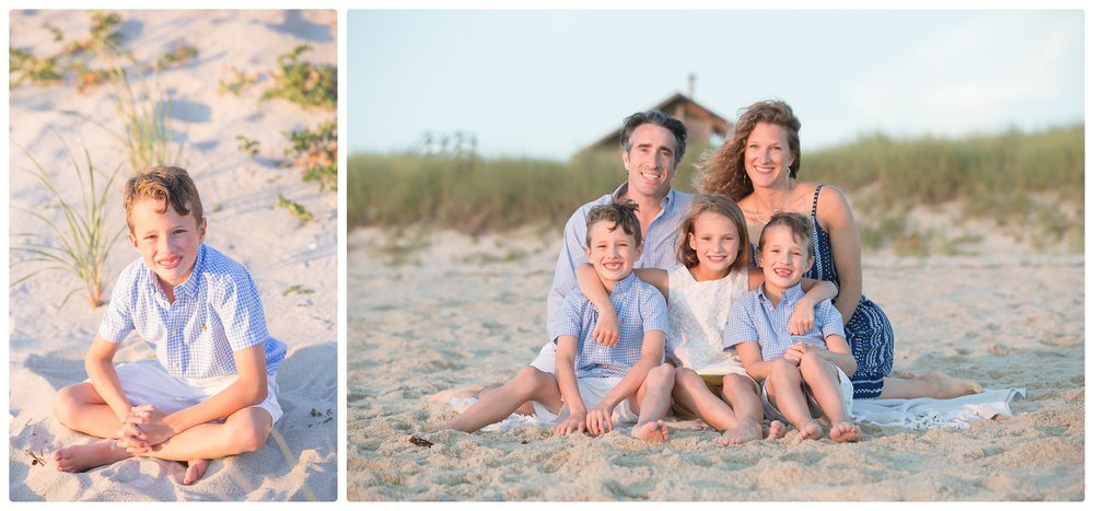 Family photos taken during Family photo session in Truro Massachusetts.