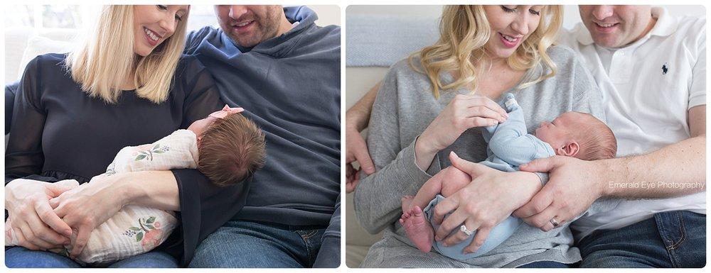 Annie, 11 days old/Jack, 10 days old