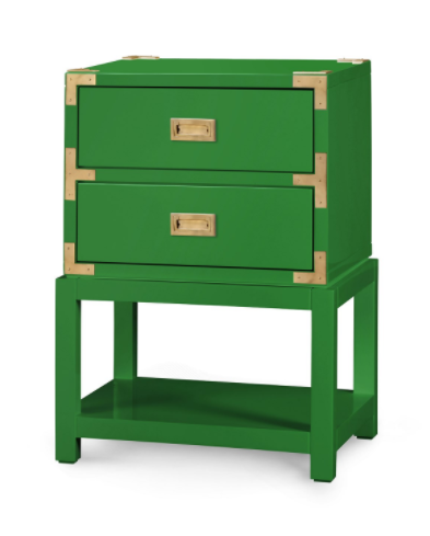 Bungalow 5 Tansu 2 Drawer Side Table ...