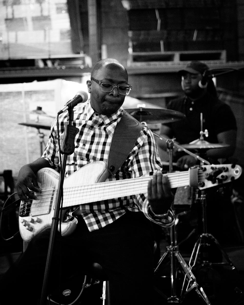 Black Diamond and Company performing at James Simons Jam