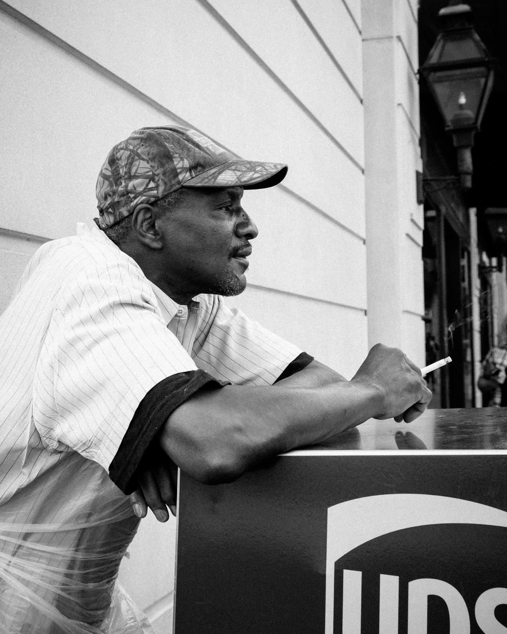 Aaron, Street portrait, May 13, 2016