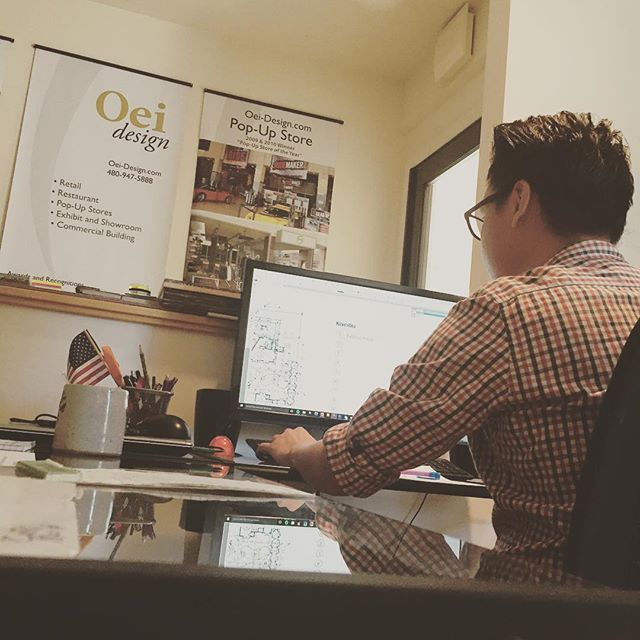 Lets welcome to out new team member @oeidesignarchitecture 👍🏻#archerylife #modern #creative  #workspace