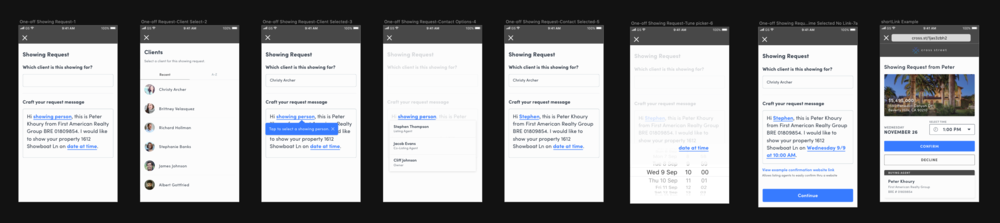 Showing Request Flow