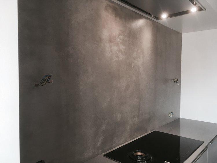 Beton Stucwerk Badkamer : Beton ciré betonlook u hoyer stukadoors