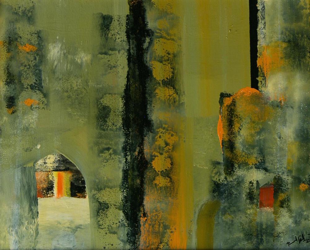"""""""Tuscan Wall"""""""