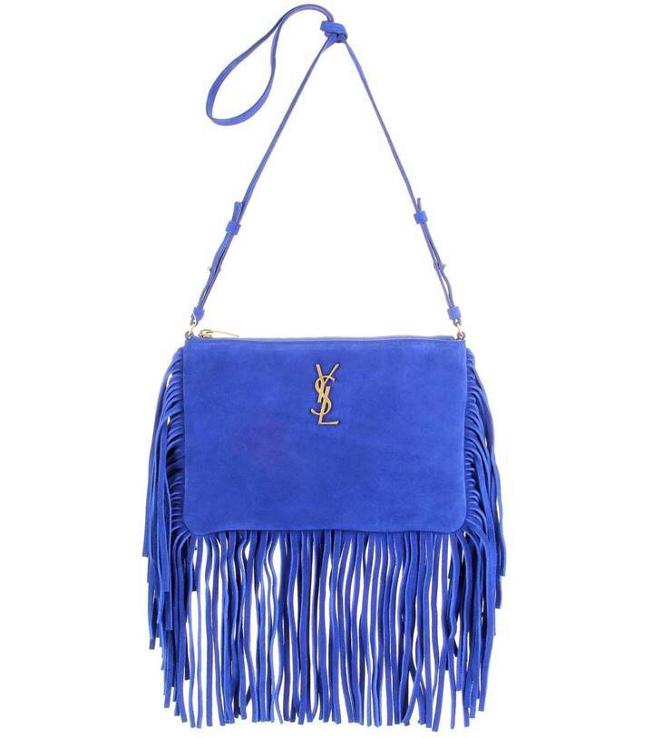 CARTERA DE GAMUZA - SAINT LAURENT