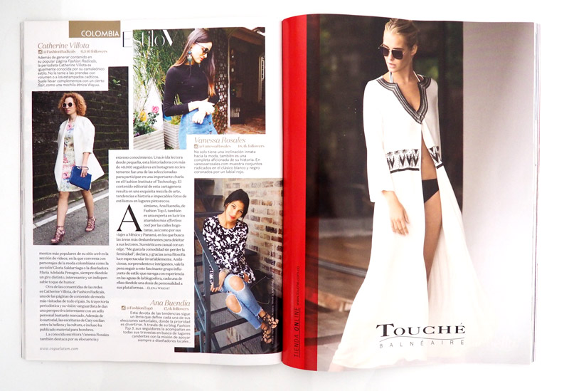 TOP 5 FASHION - ANA BUENDIA EN VOGUE