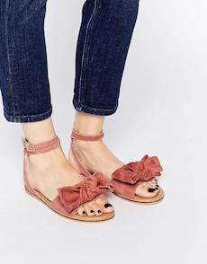 SANDALIAS DE GAMUZA I ASOS COLLECTION