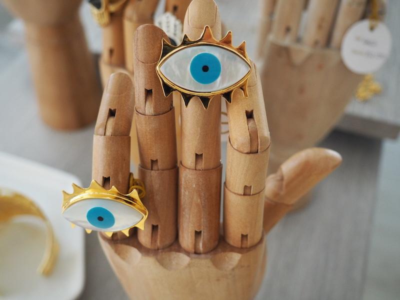 anillo de moda ojo evil eye daniela salcedo