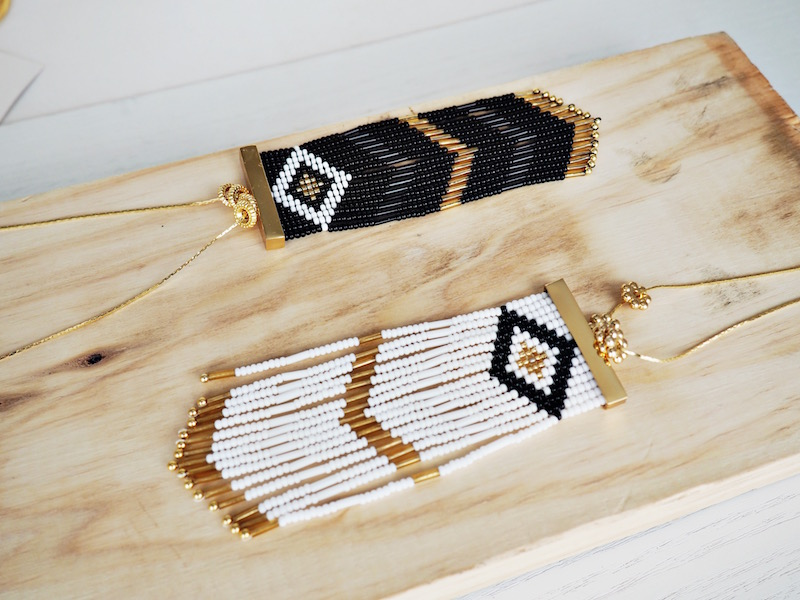 collares de moda indigenas en colombia makua