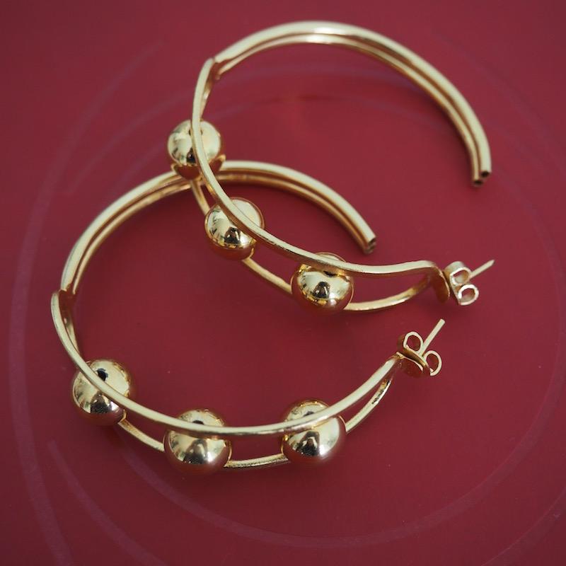 candongas aretes de oro