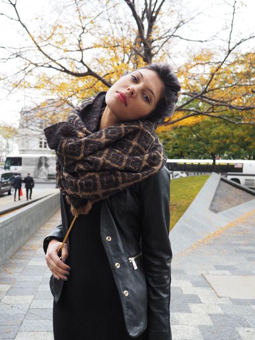 vestido negro looks de moda blogger ana buendia