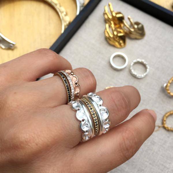 joyas y anillos de plata y oro rosado son las tendencias del 2016