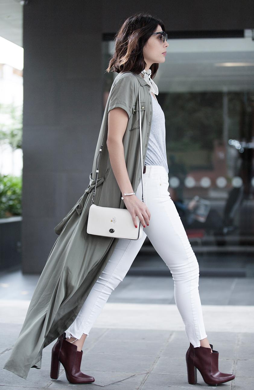 Looks de moda cool para usar en bogota kimonos y camisas largas