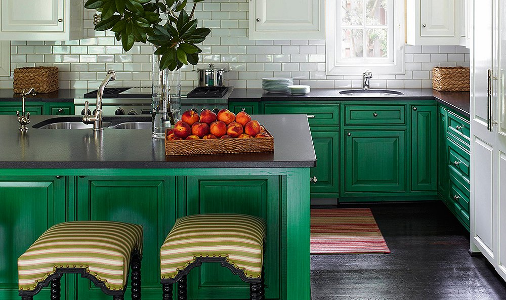 read on for their favorite shades and smart tips for creating a green kitchen thats sure to gather a few envious looks - Green Kitchen Cabinets