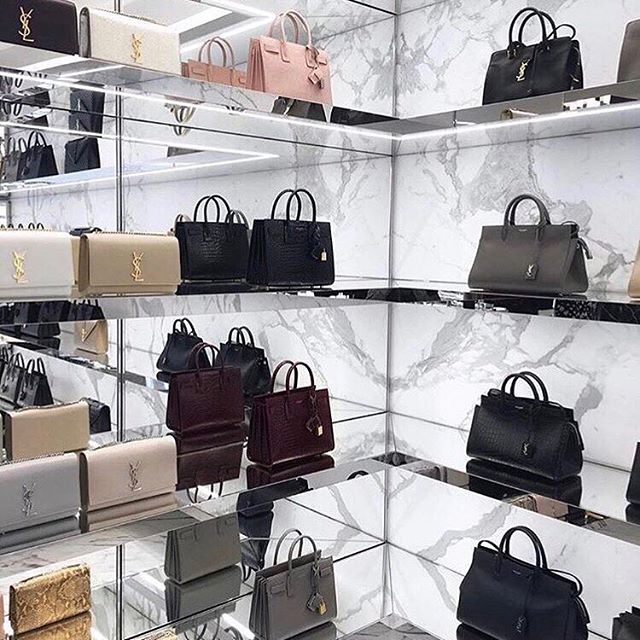In desperate need of some serious retail therapy! Who's with me? Happy Hump Day lovelies #ysl #yslhandbags #retailtherapy #interior #marble #thismarblelife #blushpink #humpday #interior_design #interiors #interiorinspo #luxury #luxurylife #bloggerstyle #thisstyle #bbloggers #beauxdiaries